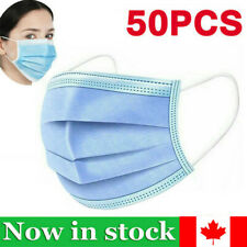 20/50Pcs Outdoor Protective Face Roof Mouth Cover Respirator Protection Masks CA