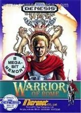 Warrior of Rome - Original Sega Genesis Game