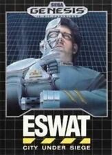 ESWAT City Under Siege - Original Sega Genesis Game