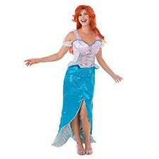 Disney Little Mermaid Princess Ariel Costume Adult NWT
