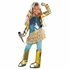 Disney Hannah Montana Costume NWT Concert Dress Blue