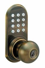Remote Controlled Door Lock - Door Knob With Keypad