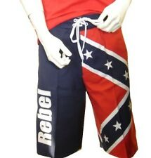 Rebel Confederate Flag Boardshort Board Shorts
