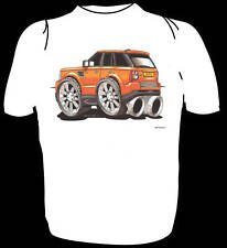 KOOLART TSHIRT - RANGE ROVER SPORT - ALL SIZES - ORANGE
