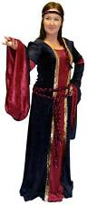PLUS SIZED Medieval-Pagan-Larp NOBLE LADY Stunning Fancy Dress costume