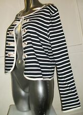 Yumi Womens Symira Stripe Jacket, Womens Top, Womens Cardigan RRP£50 (All Sizes)