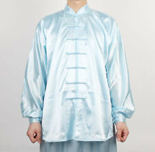 Wushu Uniform TaiChi KungFu uniforms Tai Chi Chuan Kung Fu Chinese Light Blue