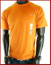 NWT MENS REEBOK ORANGE  HYDROMOVE ATHLETIC  T-SHIRT