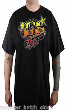 NEW WITH TAGS Hart & Hunnington One Industries Rockstar Tee BLACK MEDIUM-XXLARGE