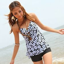 One Piece Swimsuit  H2542 Tankini with attached bottom
