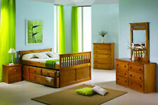 Full Size Daybed with Trundle Bed and Storage Drawers