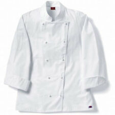 NEW Dickies Hospitality CW070106 Female Grand Master Chef Coat Jacket XL 2XL