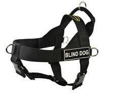 No Pull Harness with Patches BLIND DOG