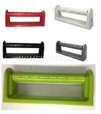 WALL MOUNT MOUNTED KITCHEN PAPER TOWEL ROLL RACK HOLDER HOLD DISPENSER PLASTIC