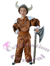 THOR VIKING NORSEMAN BOYS FANCY DRESS COSTUME