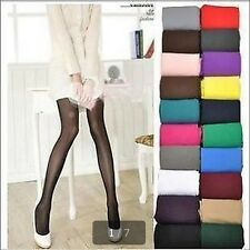 Sweety Color Winter Warm Thick Footed Tights Pantyhose