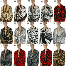 New Pashmina Scarf Shawl Wrap Cape Animal Printed More Patterns & Colors 108s