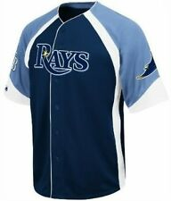 TAMPA BAY RAYS MLB MAJESTIC WHEELHOUSE JERSEY BIG AND TALL SIZES