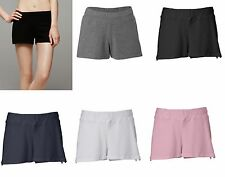Bella Brand NEW Ladies Size S-2XL Cotton Spandex Yoga Fitness Shorts Womens 825