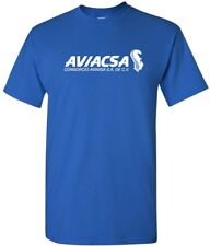 Aviacsa Cool Retro Logo Mexican Airline Aviation Logo T-Shirt