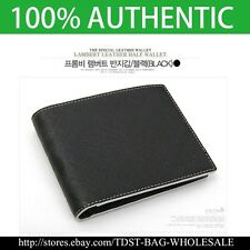 [Fromb]Korea MEN'S PU LEATHER /Purse ID Card Purse Bifold Wallet GRID FB2011S