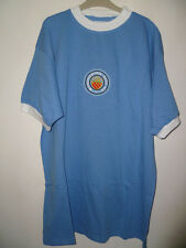 Bnwt Manchester City Retro Home Football Shirt 1970