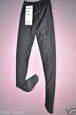 Bal togs -child sizes dark gray footed nylon-lycra dance leggings item#1808f