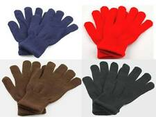1 Pair Women's Girl's Winter Gloves 8 Colors to Choose One Size