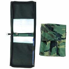 WEB-TEX A6 NOTEBOOK HOLDER – uk british army dpm camo or black military cover