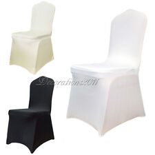 50PCS Spandex Lycra Chair Cover Stretch Wedding Party Event Banquet Decoration