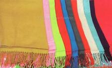 1 Women's Pashmina/Silk/Cashmere Wrap Shawl Scarf Multiple Solid Color Options