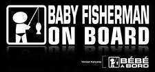 Baby on Board - Fisherman  (Pindk or white)
