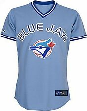 Toronto Blue Jays Throwback Retro Majestic MLB Replica Jersey Big Sizes 3X & 4X