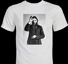 Rasputin Occult Mystic Healer Hypnotist Russian Orthodox Christian T-shirt