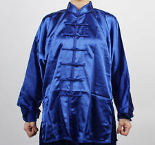 Chinese Wushu KungFu TAICHI Uniforms BLUE Taiji suit uniform shaolin Tai Chi