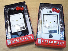 Sanrio Hello Kitty Iphone 4G 4GS Iphone Case in Black / White Lovely !!!
