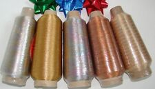 Metallic Fine Cone Sewing Thread /Yarn 100gr/5750yrds