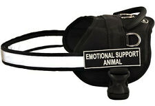 "Dean & Tyler ""DT Works"" Nylon Dog Harness with Removable Patches"