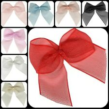 Chiffon Organza Ribbon Bows Wedding Favours  Card Scrapbooking Embellishments