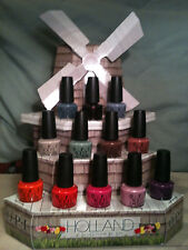 OPI Holland Collection 2012 NEW! HOT! In hand! Ship now! Choose your favorite
