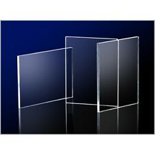 Clear Acrylic Perspex Sheet 420mm x 297mm (A3 Size) Thicknesses 2mm - 25mm