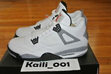 Nike Air Jordan 4 IV Retro Black White Cement OG Bred B