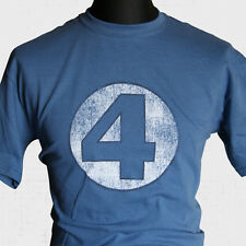 FANTASTIC FOUR T SHIRT MARVEL COMIC MOVIE DVD THE THING SILVER SURFER SUPER HERO