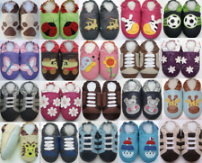 soft sole leather baby shoes zoo unisex slippers sizes up to 4-5 years