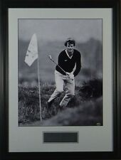 Tom Watson 1982 Pebble Beach Chip Shot Framed Golf Photo