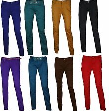 NEW WOMENS LADIES SLIM FIT SKINNY COLOURED JEANS SIZE UK 8,10,12,14,16