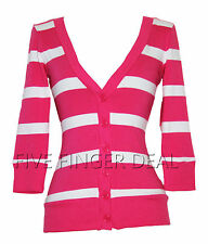 ZENANA OUTFITTERS CARDIGAN STRIPED MULTIPLE COLORS WOMENS JUNIOR