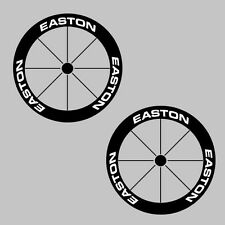 Easton Carbon Bike/Cycling/Cycle/Push Bike Wheel Decal Sticker Kit