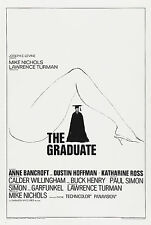 THE GRADUATE Movie Poster 1967 Dustin Hoffman RARE