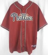 Philadelphia Phillies Alternate Brick Majestic Replica Jersey Big & Tall Sizes